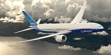 Zo gaat de 777X eruit zien (Bron: Boeing)