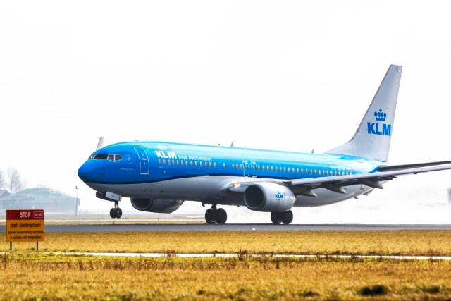 De Boeing 737-800 van KLM (Bron: KLM)