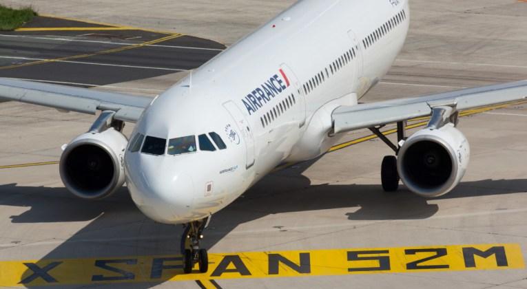 Airbus A321 van Air France op de luchthaven (Bron: Air France)