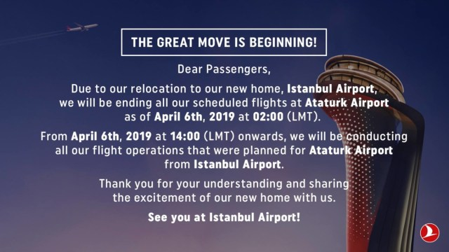 Turkish Airlines new airport Istanbul
