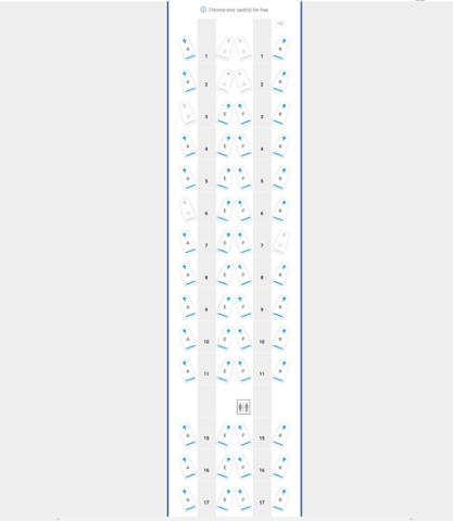 British Airways A350 indeling