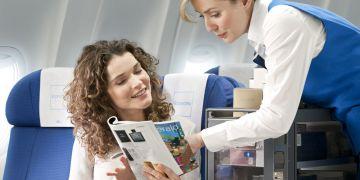 KLM inflight shopping