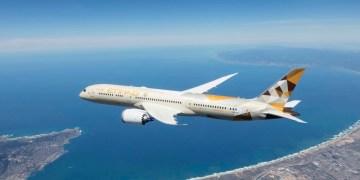 Boeing 787-9 Dreamliner in Etihad Airways livery (Bron: Etihad)