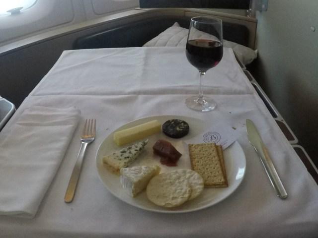 Qantas, a380, first class, kaas