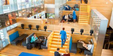 De nieuwe intercontinentale KLM Crown Lounge