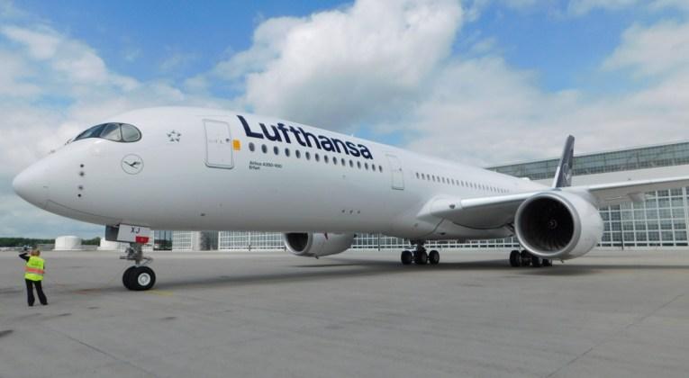 De Airbus A350-900 van Lufthansa (Foto: Lufthansa)
