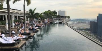 infinity pool, Singapore, marina bay sands