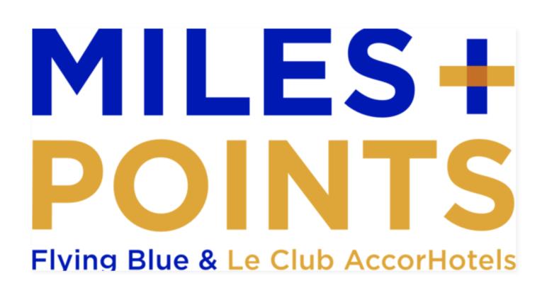 Spaar Flying Blue Miles en XP bij AccorHotels met Miles+Points