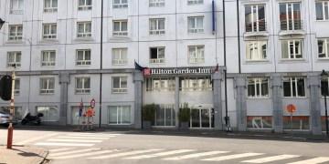 hilton, garden inn, Brussels city, review