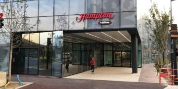Hampton by hilton, Paris Clichy, review
