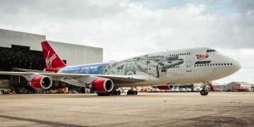 Boeng 747-400 van Virgin Atlantic op Londen Gatwick (Bron: Virgin Atlantic)