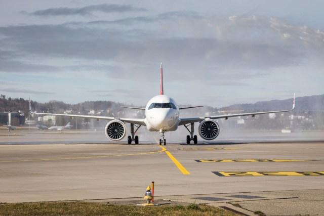 Airbus A320neo van SWISS (Bron: Airbus / SWISS)
