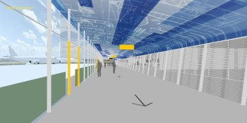 Eindhoven Airport Looproutes Overdekt