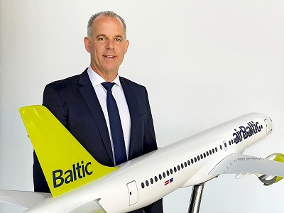 Martin Gauss President CEO airBaltic