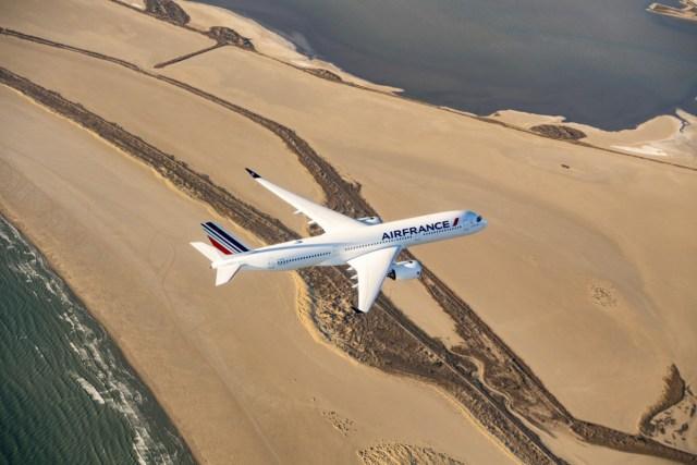 Airbus A350 van Air France (Bron: Air France)