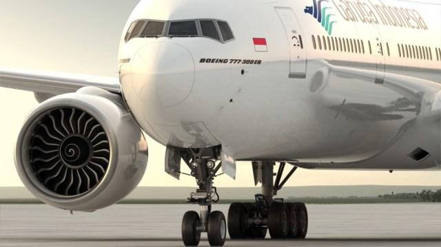 Boeing 777-300ER van Garuda Indonesia (Bron: Garuda Indonesia / Facebook)