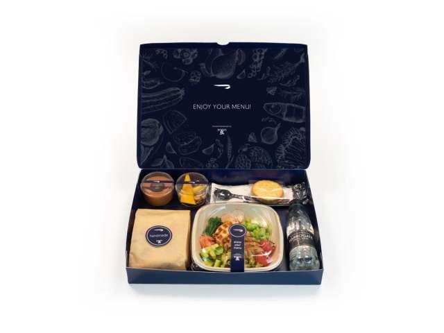 Business Class Catering bij British Airways (Bron: British Airways)