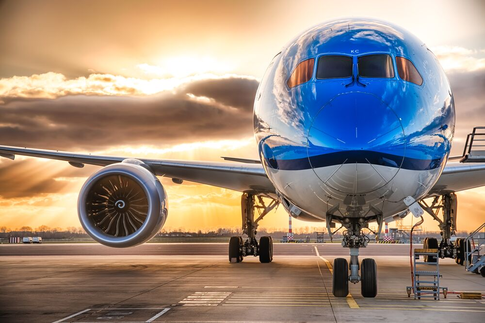 KLM B787 Dreamliner