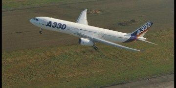 A330-300 Airbus first flight