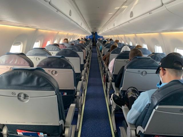 Het is geen volle vlucht naar Florence (Bron: eigen foto)