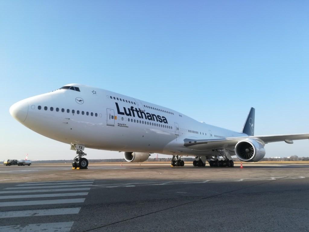 Boeing 747-800 van Lufthansa (Bron: Lufthansa)