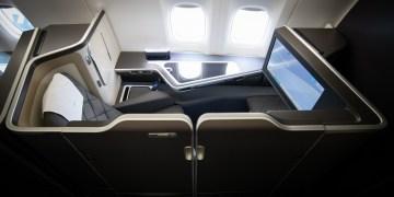 British Airways First Class B777-300