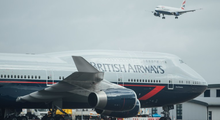 Boeing 747 British Airways wordt nationaal erfgoed