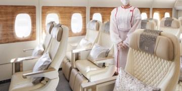 Emirates' Premium Economy als eerste naar Londen