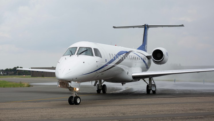 ASL Fly Executive tussen Brussel en Ibiza