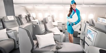 Eurowings BIZclass – Lie-flat Seat