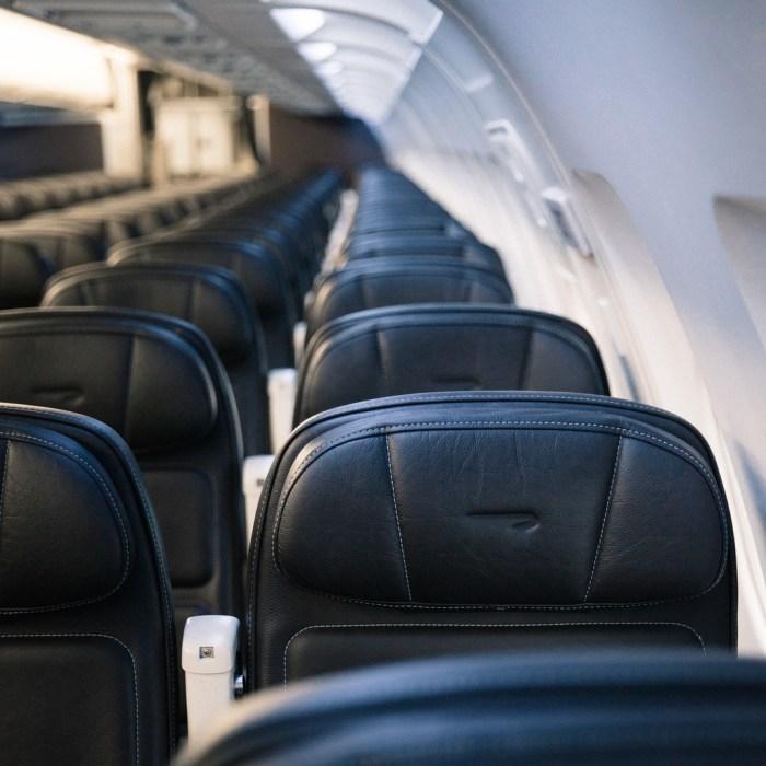 British Airways A319 Aircraft Seats Taken: 8th September 2016 Picture by: Stuart Bailey / British Airways