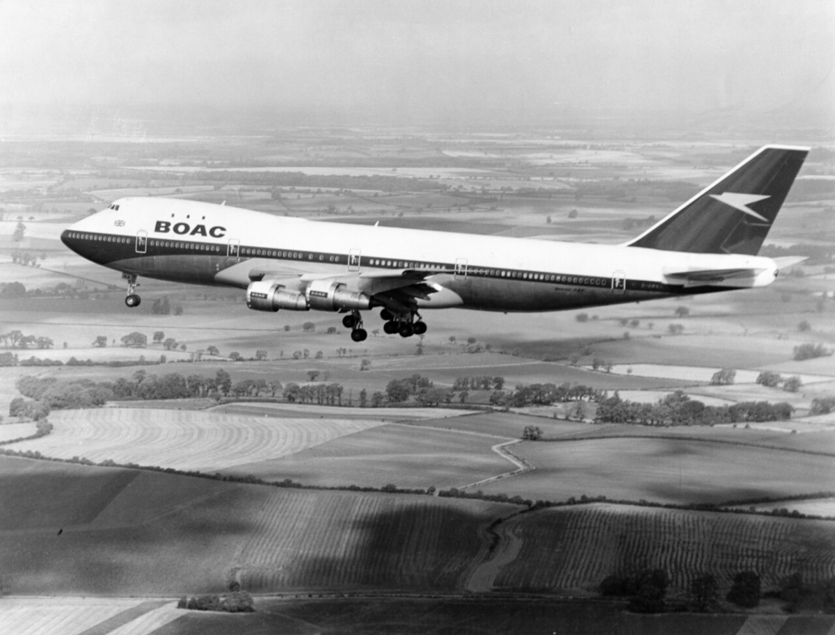 British Airways (BOAC) Boeing 747-136