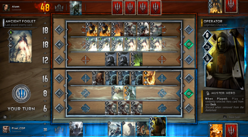 GWENT Gameplay