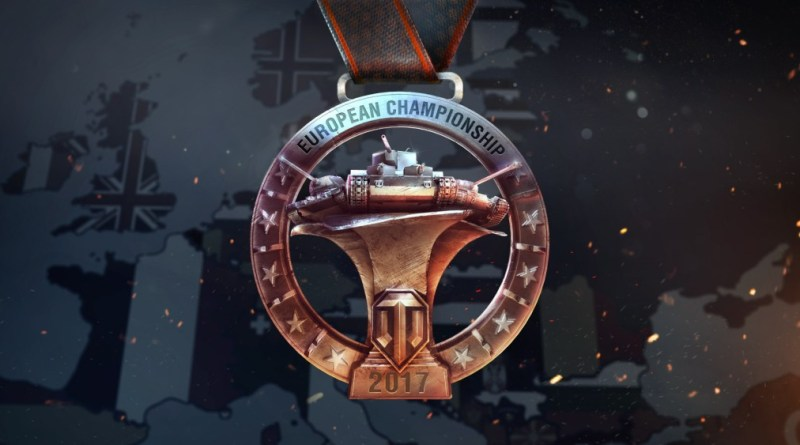 World of Tanks European Championship Medal