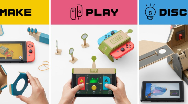 Nintendo Labo, Make, Play, Discover