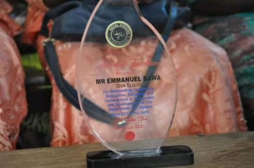 Don Cloud bags another award of recognition