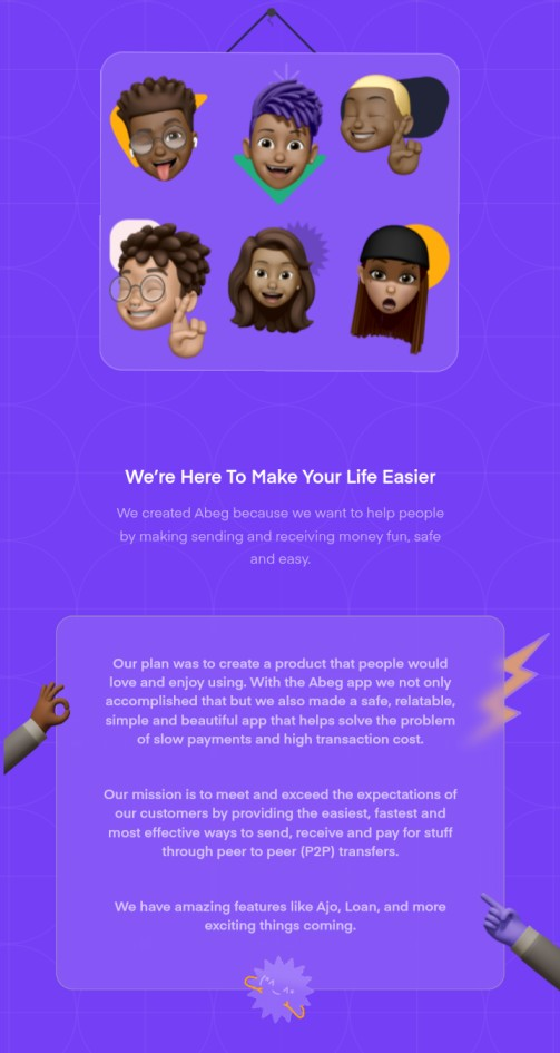 abeg app and how does it work