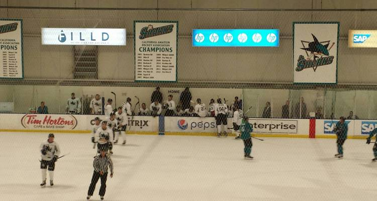 Final day of Sharks Summer Prospect Camp.