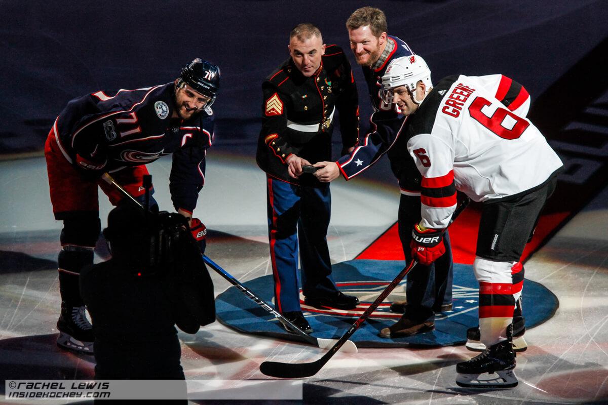 huge selection of b5ae8 ef7a2 PHOTO GALLERY: Blue Jackets v Devils 12/5/2017 – Inside Hockey