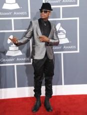 music-grammy-awards-red-carpet-ne-yo