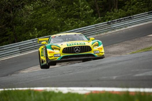 Mercedes-AMG GT3 at the 2016 Nurburgring 24 Hours
