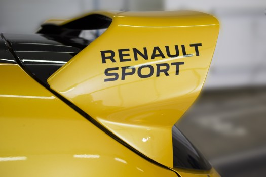 Renault Sport Clio RS16 Wing