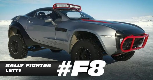 Fast and Furious 8 Local Motors Rally Fighter