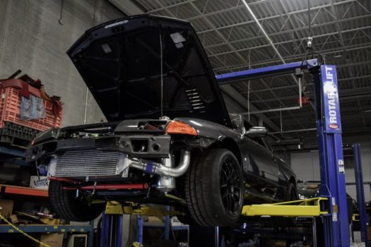 Nissan Skyline GTR R32 at the Engineered Automotive shop in Toronto