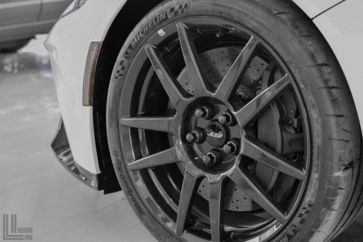 Ford GT Carbon Fiber Wheels, Brembo Calipers and Carbon Ceramic Discs