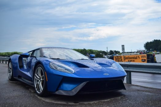 Ford GT held the production car lap record at VIR, until the Chevrolet Corvette ZR1 smashed it a week later.