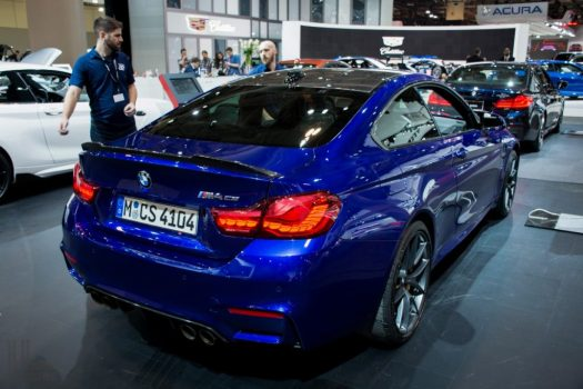 Toronto Auto Show CIAS 2018 - BMW M4 CS slots in between the Competition Pack and the M4 GTS.