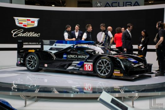 Toronto Auto Show 2018 - The Cadillac DPi V.R is the reigning champion of the 2017 IMSA WeatherTech Sportscar Championship.