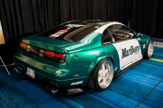 Toronto Auto Show CIAS 2018 PASMAG Tuner Battlegrounds - Nissan 300ZX widebody with almost 600 whp.