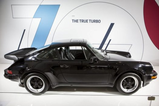 Toronto Auto Show CIAS 2018, 70 Years of Porsche - The Porsche 930 was the first turbocharged production 911. Now, every 911 is equipped with a turbo with the exception of the GT3 and GT3 RS.